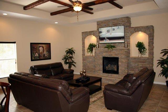 Don crystal model home from dream custom homes in hernando for Dream custom homes